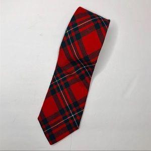Vintage NEW Kinloch Anderson Plaid Tie MacGregor